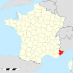 carte Alpes-Maritimes