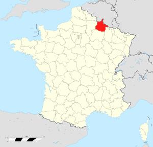 carte Ardennes