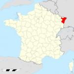 carte Bas-Rhin