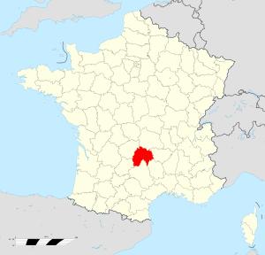 carte Cantal
