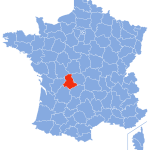 carte Haute-Vienne