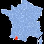 carte Hautes-Pyrénées