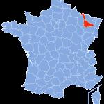 carte Meurthe-et-Moselle