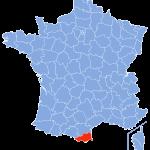 carte Pyrenees-Orientales