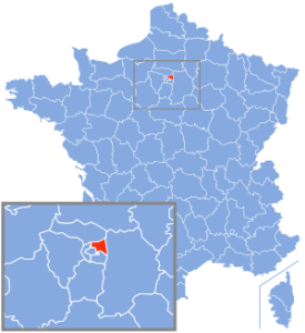 carte Seine-saint-denis