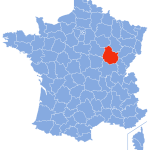 carte cote d'or