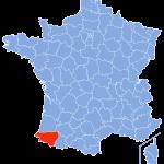 carte Pyrenees-atlantiques